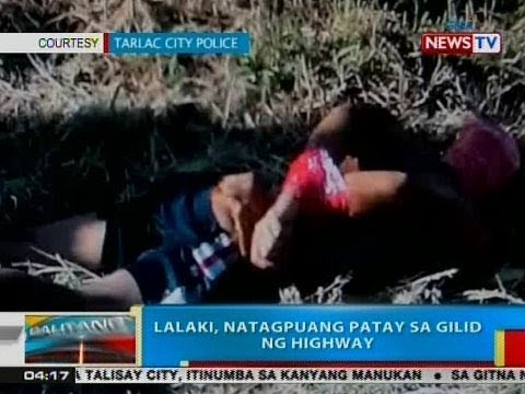 Xxx Mp4 BP Lalaki Natagpuang Patay Sa Gilid Ng Highway Sa Tarlac City 3gp Sex
