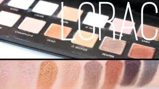 LORAC PRO Palette Swatches 16 Eyeshadow