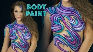Body Painting w/ Molly Balloons | Elsa Rhae