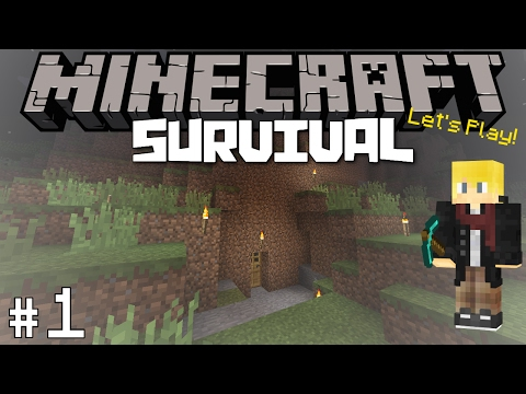 Minecraft: Survival Let's Play #1 - A New Beginning!
