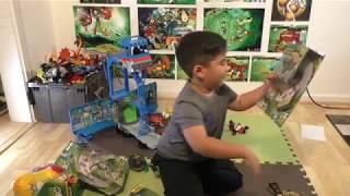 Ben 10- Braeden's Toys reviews Ben 10 Omni-Launch/Battles Dultan/Erupts Volcano