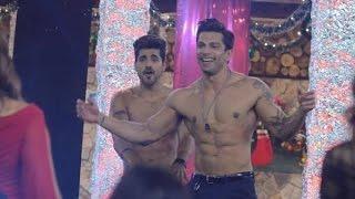 Bigg Boss 8: Karan Singh, Gautam & Upen Strip Tease For Bipasha - BT