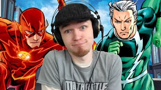 Let's Watch DEATH BATTLE | Flash VS Quicksilver