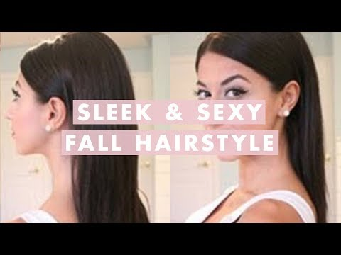 Sleek & Sexy Fall Hairstyle