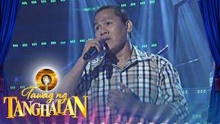 Tawag ng Tanghalan:  Manny Lucas | My Love Will See You Through
