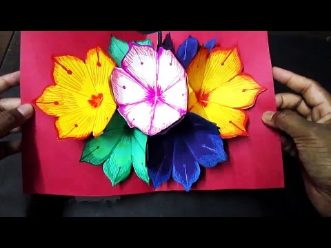 Xxx Mp4 New Year Pop Up Greeting Card Making Ideas Amazing DIY Handmade Paper Card Idea 3gp Sex