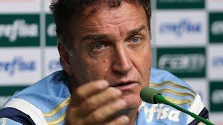 Coletiva do professor Cuca - Palmeiras x Grêmio