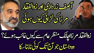 Important Information About Zulfiqar Mirza and Asif Ali Zardari