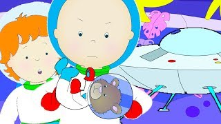 Caillou Goes to Space | Funny Animated cartoons Kids | WATCH ONLINE | Cartoon for Children