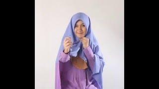 Tutorial Memakai Khimar Maxi Hijab Syar'i Alila