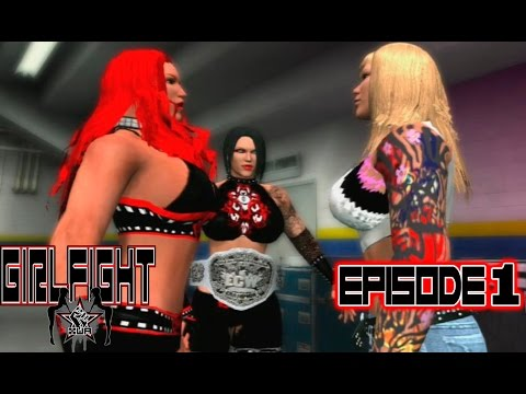 XWA Girlfight (EP1) WWE 2K14 - PS3
