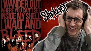 Slipknot - Wait And Bleed HIP-HOP HEAD REACTION TO METAL!!