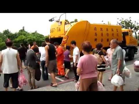Müllabfuhr in Thailand