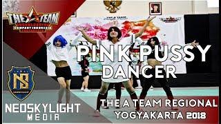 Pink Pussy Dancer I@The A Team Regional Yogyakarta 2018 [@Neoskylight_Media]