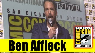 Ben Affleck Talks Being Replaced as Batman Rumor During Justice League Panel | Comic Con 2017