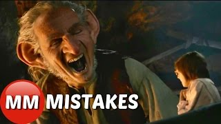 The Big Friendly Giant Movie MISTAKES You Didn't See | The BFG Movie Mistakes