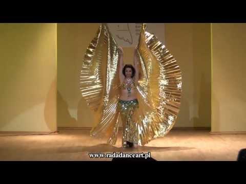 RADA Radosława Bogusławska Isis Wings 2013 BELLYDANCE RADA DANCE ART