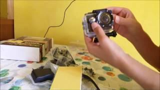 Stoga 1080P HD macchina fotografica videocamera impermeabile Amazon recensione review