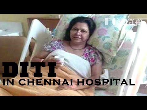 ব্রেইন টিউমারে আক্রান্ত নায়িকা দিতি | Parvin Sultana Diti Brain Tumor Operation in Chennai