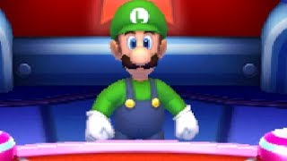 Mario Party The Top 100 - Luigi wins by doing absolutely nothing