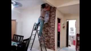 Cara Pasang Wallpaper / Korea Wallpaper Installation - Wallcoverings Expert - Malaysia