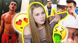 HOT or NOT !? 😏👅 MODEL BEWERTET YouTuber!! (*MEGA WITZIG*)