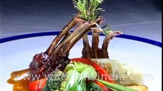 Food art at Wildflower Hall Shimla, Himachal Pradesh