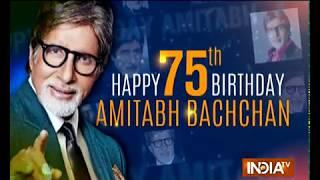 B-Town wishes Amitabh Bachchan on his 75th birthday