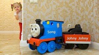 أغاني الأطفال جوني جوني والعجلات على الحافلة التحويل البرمجي