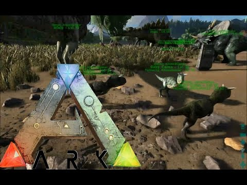 ARK Survival Evolved Gameplay: Baby Carno... TRIPLETS!?!?!!! [Ep 75]