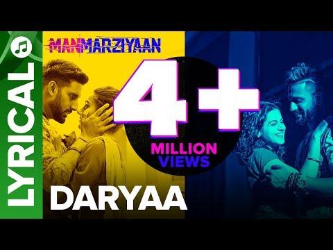 Xxx Mp4 Daryaa Lyrical Audio Song Manmarziyaan Amit Trivedi Shellee Abhishek Taapsee Vicky 3gp Sex