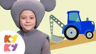 КУКУТИКИ - Песочница - Песенка мультик для малышей про песочницу