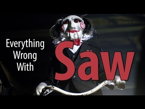 Everything Wrong With Saw In 8 Minutes Or Less
