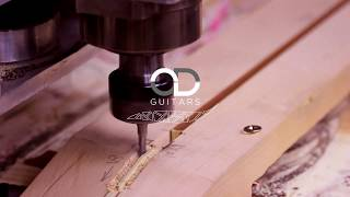 OD Guitars - Cybele CNC machining