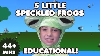 5 Little Speckled Frogs and More Nursery Rhymes