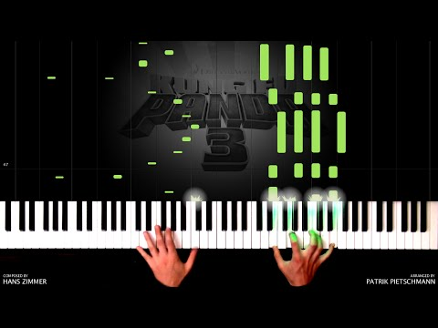 Hans Zimmer - Kung Fu Panda 3 - Father and Son (Piano Version) + Sheet Music
