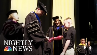 Inspiring America: How A Florida PhD Student Changed Kids Live, One Arm At A Time | NBC Nightly News