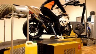 BMW S1000RR 2009 - 2014 Launch Control dyno testing after PowerTech ECU Tuning
