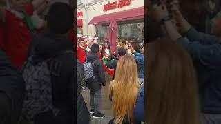 Iran Football Fans in Moscow, Russia