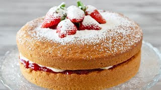 How to Make Victoria Sponge Cake | El Mundo Eats recipe #18