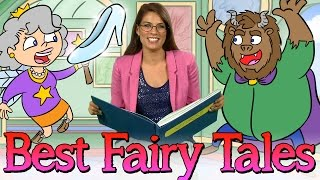 30 Minutes of the Best Fairy Tales! | Story Time Favorites w/ Ms. Booksy at Cool School