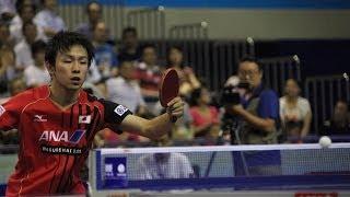 Russian Open 2013 Highlights: Koki Niwa vs Zheng Peifeng (1/4 Final)