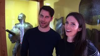 GRIMM at MFC in Solingen - Interview David Giuntoli & Bitsie Tulloch - married