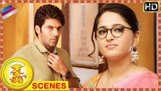 Size Zero Telugu Movie Scenes | Anushka rejects Arya | Prakash Raj | Sonal Chauhan | Brahmanandam