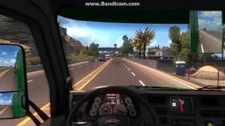amrikan truck simulator (gagrzeleba)