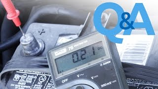 Car Battery Keeps Dying   Parasitic Draw Test   Car Audio Q&A