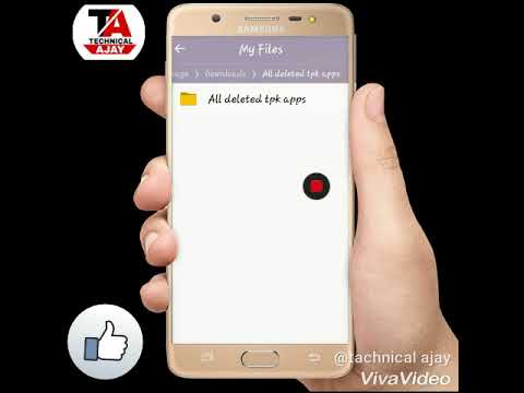 Xxx Mp4 How Dounload All Delete Tpk App By Technical Ajay 3gp Sex