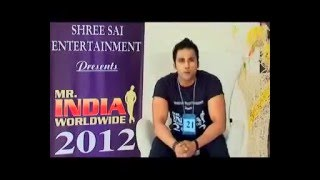 ZUBER K KHAN   MR INDIA   BESTMODEL  WORLDWIDE  2012