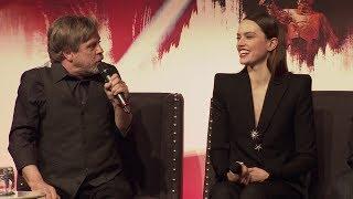 Star Wars The Last Jedi European Press Conference Cast Interviews
