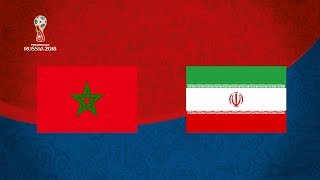 WORLD CUP 2018 - MOROCCO VS IRAN (GROUP B)